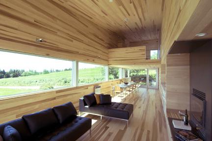 Livingroom with fireplace