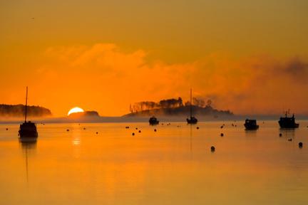 Sunset on Mahone Bay