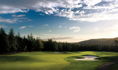 Bell Bay Golf Course with in walking distance of the cottage