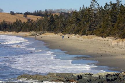 Rissers Beach close by