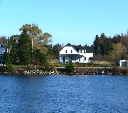Farm House by the Sea