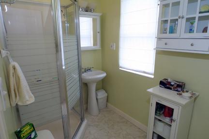 Main floor bath with shower