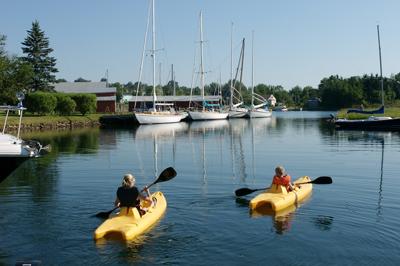 Baddeck waterfront