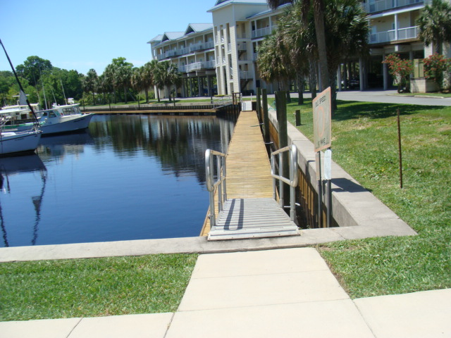 Community dock for your boat